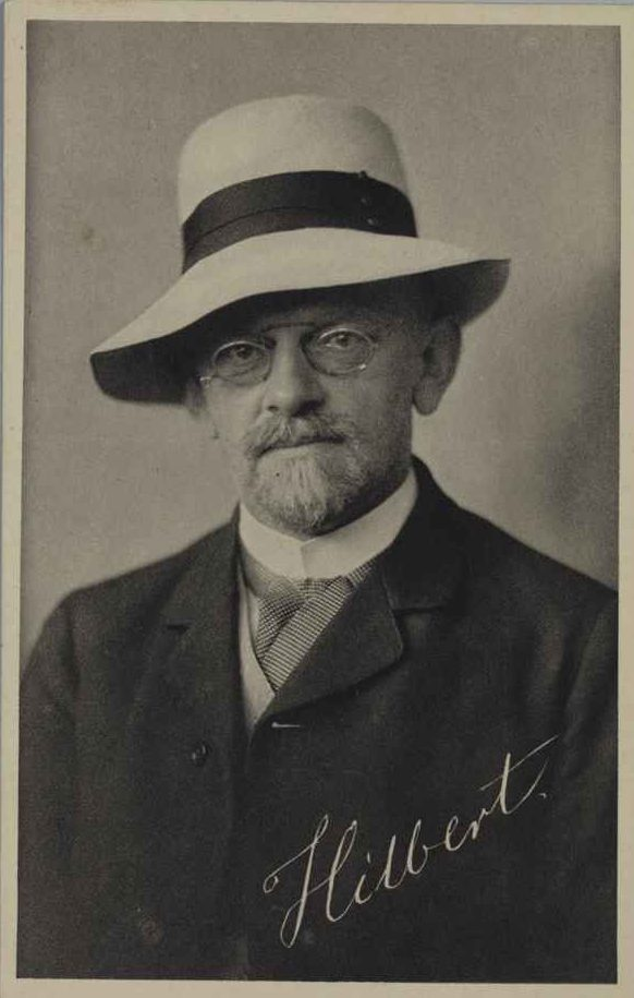 David Hilbert (1862–1943) Professor für Mathematik