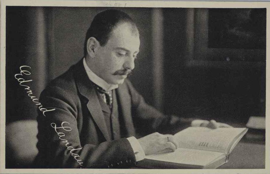 Edmund Landau (1877–1938) Professor für Mathematik