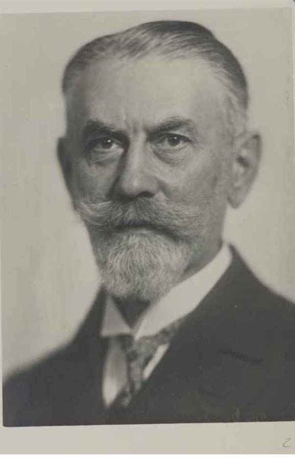 EUGEN VON HIPPEL (1867–1939) Professor of Ophthalmology