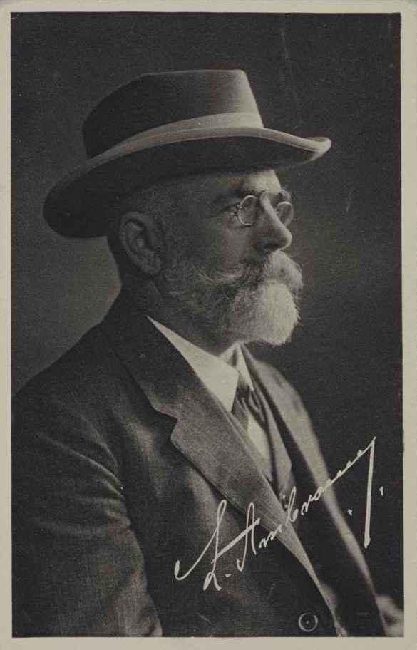 LEOPOLD AMBRONN (1854–1830) Professor of Astronomy