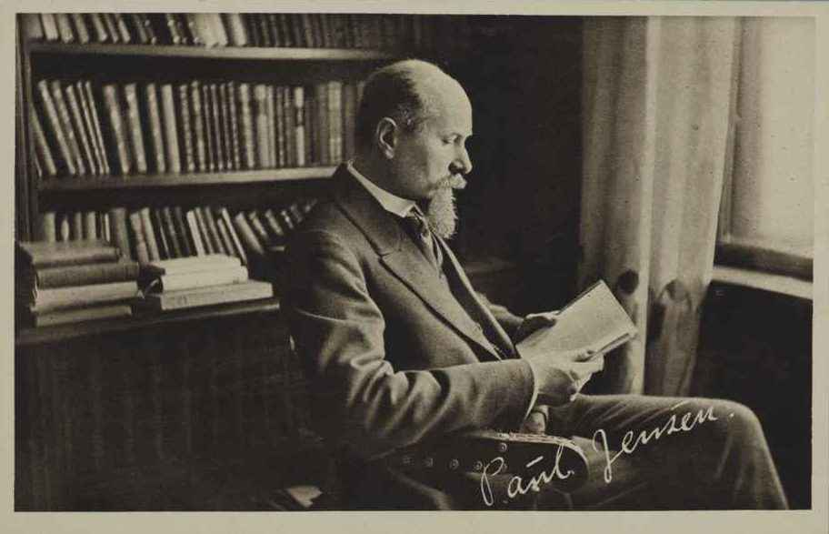PAUL JENSEN (1868–1952) Professor of Physiology