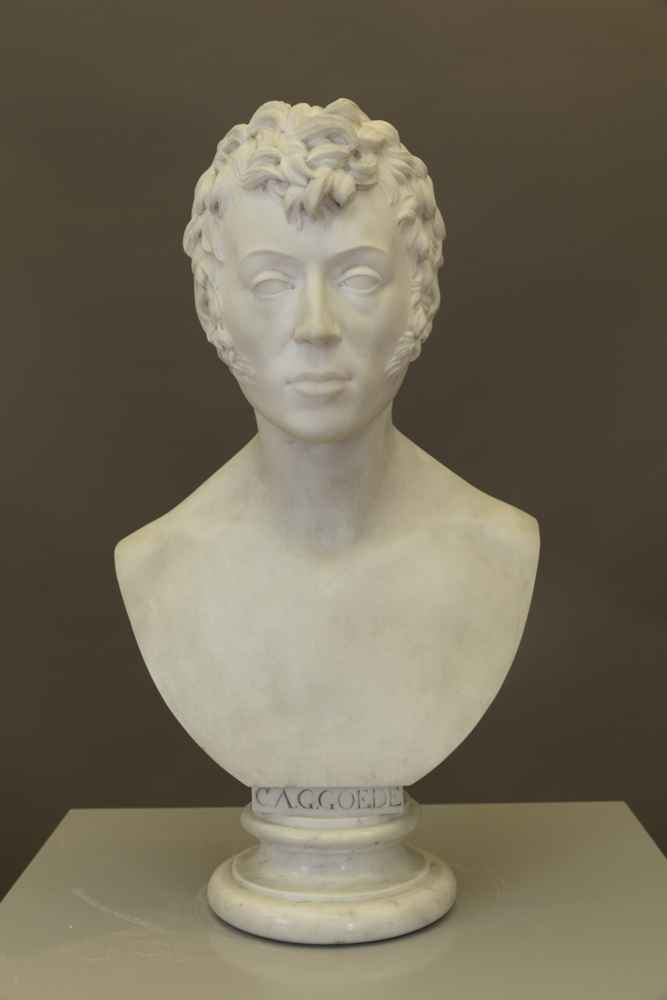 BUST OF CHRISTIAN AUGUST GOTTLIEB GOEDE (1774–1812) Professor of Law Johann Gottfried Schadow, 1813, marble Art Collection of the University