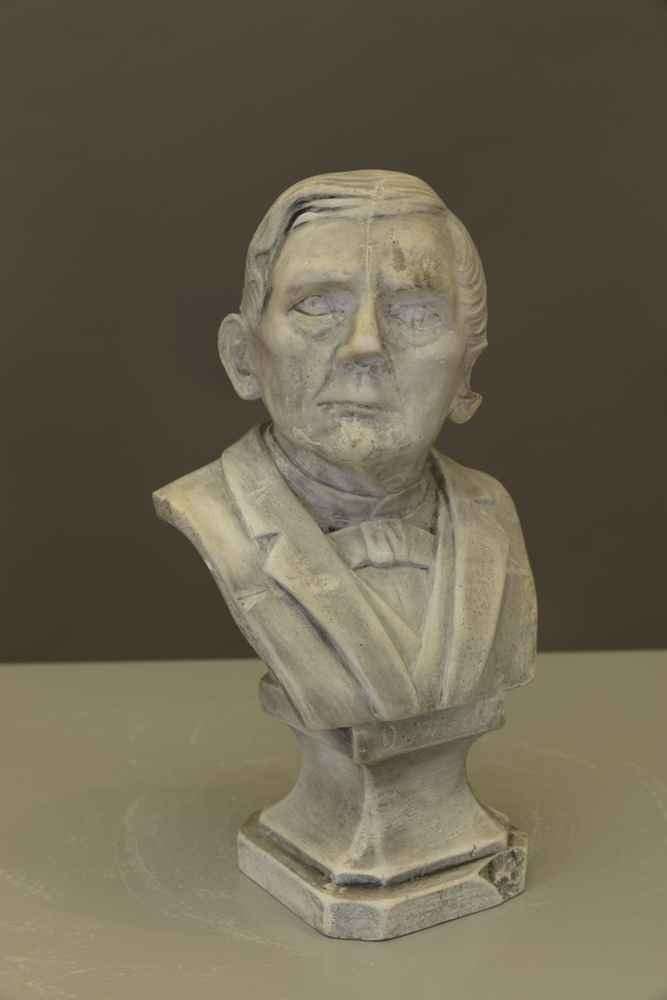 BUST OF D. WIESE date unknown, plaster Art Collection of the University of Göttingen